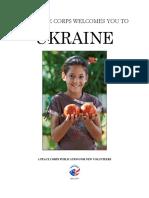 Peace Corps Ukraine Welcome Book 2015