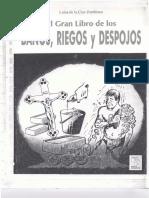 El Gran Libro De Los Baños Riegos y Despojos - Luisa De La Cruz