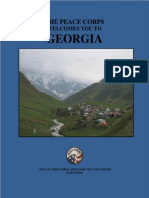 Peace Corps Georgia Welcome Book 2016