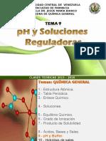 Tema N 9. PH y Soluciones Buffer