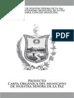 Proyecto Carta Organica FINAL La Paz