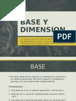 Algebra Lineal - Base y Dimension