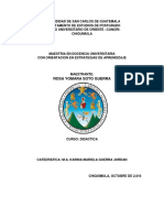 Analisis Docencia y Biodidáctica