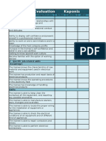 evaluation worksheets 3 weeks euromind