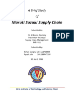 Maruti Supply Chain
