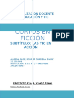 Proyecto Final Especialización