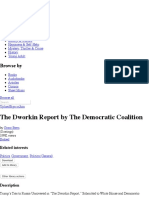 The Dworkin Report by the Democratic Coalition