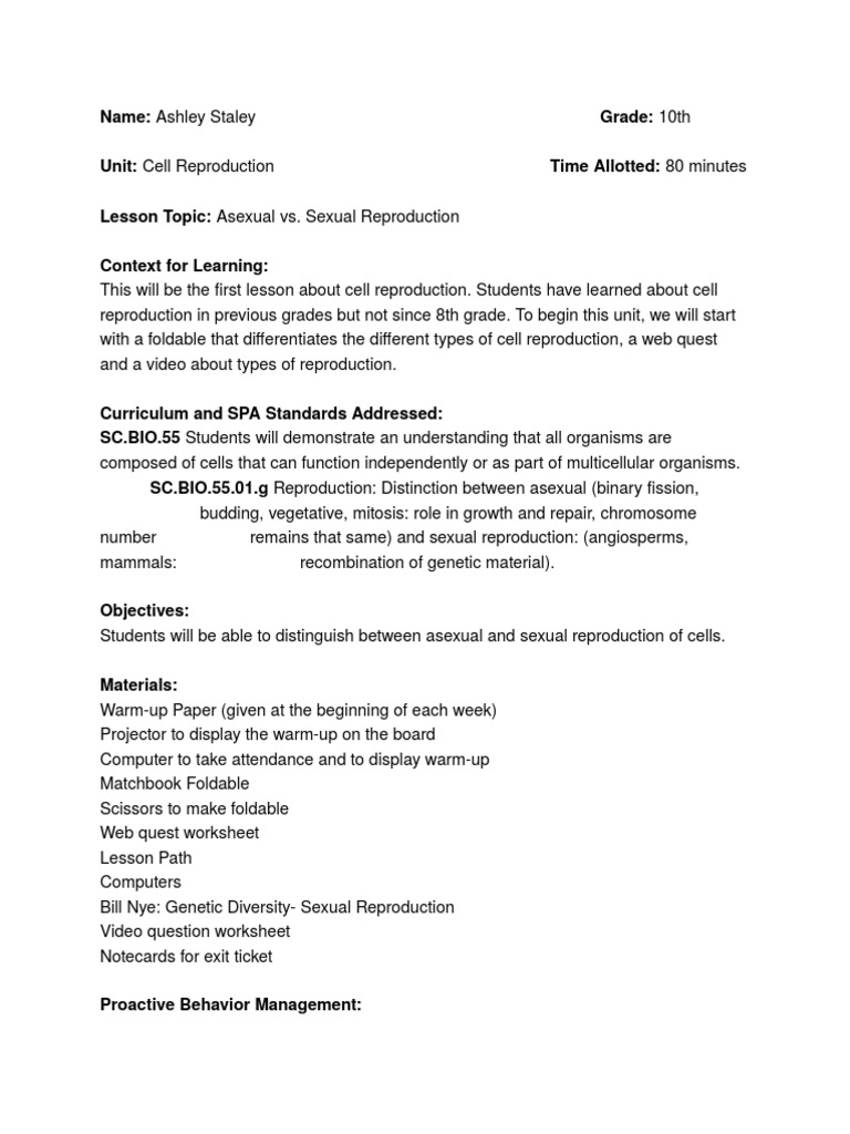 worksheet Cell Reproduction Worksheet Mytourvn Worksheet Study Site