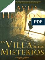 La Villa de Los Misterios - David Hewson