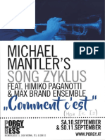 Michael Mantler – Himiko PAGANOTTI – MAX BRAND Ensemble – ECM Records