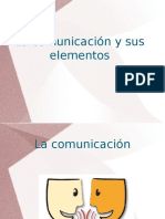 Comunicacion y Elementos