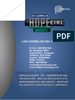Brochure Los Carmelos Eirl..Compressed
