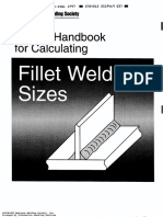 AWS - Design handbook for calculating fillet weld sizes 1997.pdf