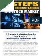 7 Steps to Understanding the Stock Market