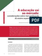 Mercantilizacao Da Educacao