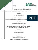Control de Banda Transportadora Selectora y Contadora
