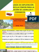 1ra Clase Tec Expl Arcilla 2014-i