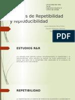 Estudios de Repetibilidad y Reproducibilidad