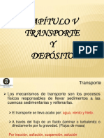 5.- Transporte de Sedimentos