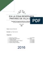 Eia La Zona Reservada Pantano de Villa 2016