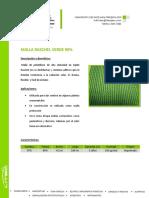 Malla Raschel Verde 90%