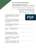 3.Cuestionario de Valores Motivacionales
