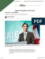 Nikiforuk - Four Harsh Truths for Canada's Lovestruck Pipeline Politicians | The Tyee