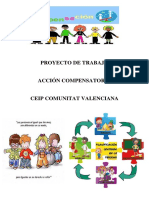 Proyecto Compensatoria CEIP Comunitat Valenciana