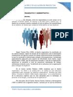 Tema 4. Diseño Organizativo y Administrativo