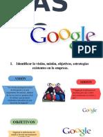 Caso Google 1,2,3 y 6