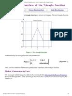 The Fourier Transform