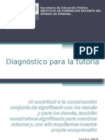 Diagnostic o Tutor i A