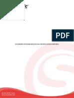 Documentación Web Service importacion