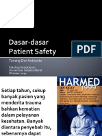 Kuliah Patient Safety 3 Oktober 2014