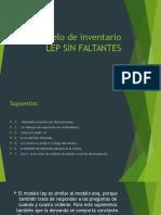 Modelo de Inventario LEP SIN FALTANTES