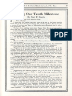 Harris Tenth Milestone 1915
