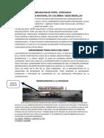 COMPARACION DE PERFIL EGRESADOS UNIVERSIDAD NACIONAL DE COLOMBIA –SEDE MEDELLIN