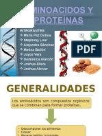 Aminoacidos y Proteinas Primer Grupo Qumica
