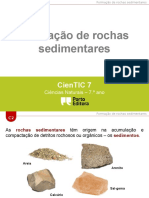 Formação de rochas sedimentares