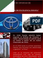 Formacion de Ofertas de Mercado Toyota
