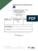 DPD Accreditation Scope