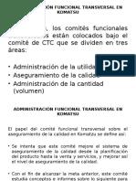 Administración Funcional Transversal en Komatsu (1)