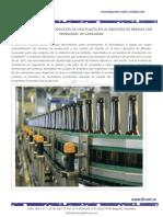 Mejora en Proceso de Producción de Una Planta Con Problemas de Capacidad en La Industria de Bebid