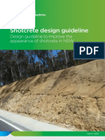 Shotcrete Design Guidelines