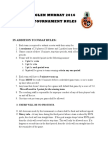 tournament rules 2016