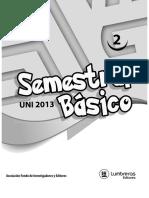 Boletin Nº 2 Semestral Basico 2013 UNI
