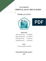 Laporan Simpang a.R. Hakim (Kelompok 2)