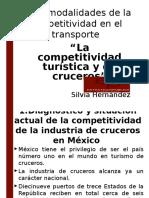 Docs Documentos Importantes PresentacionesIxtapa S Hernandez LaCompetitividadTuristicaYDeCruceros