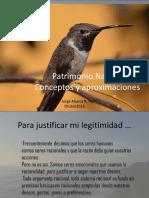 Patrimonio Natural Clase 8_Octubre_2016