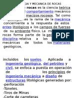 CLASE 04  -  Geologia y Mecanica de Rocas